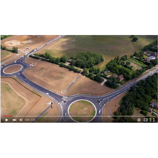 Bedford Western Bypass Summer 2015 Video Still Image