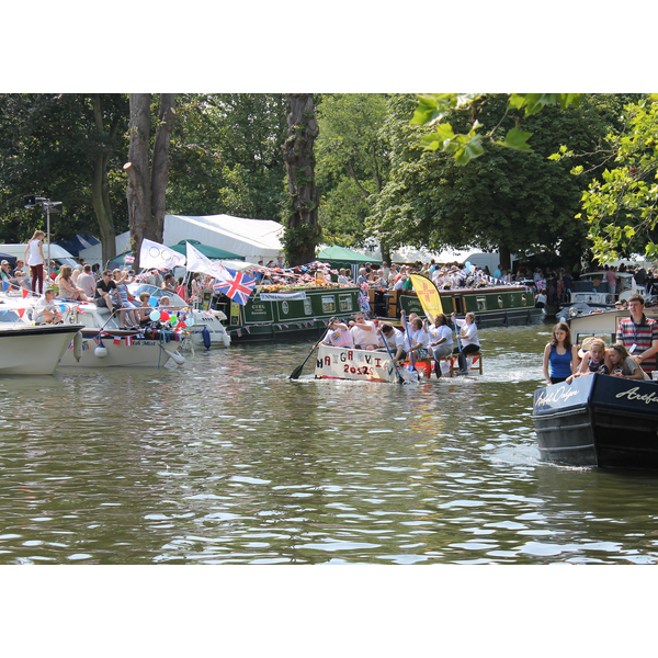 Raft Racing at Bedford River Festival