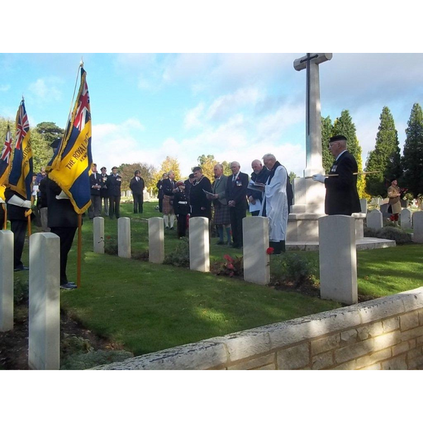 The Scots Society of St Andrew, Bedford Remembrance Service, 2013