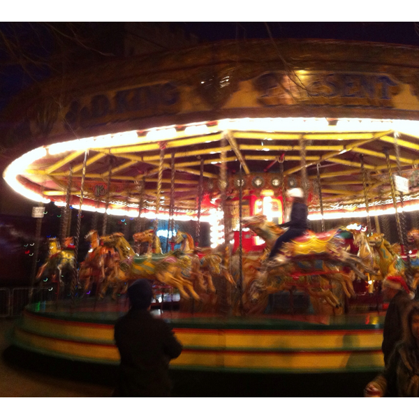 The Carousel at Bedford's Christmas Fair