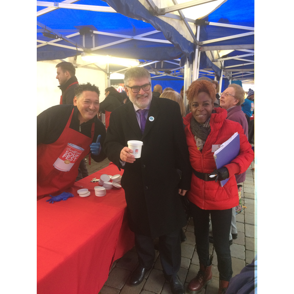 Mayor Dave Hodgson at SoupFest 2018