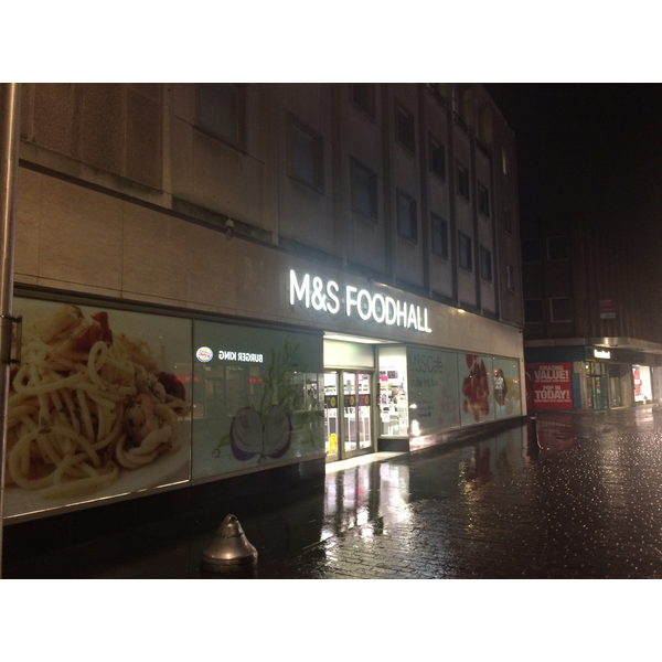 M&S in Bedford Town Centre