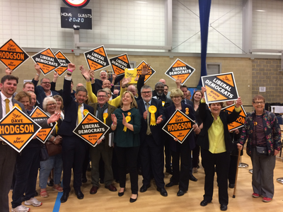 Bedford Borough Liberal Democrats celebrate the 2019 Mayoral and Councillor election results