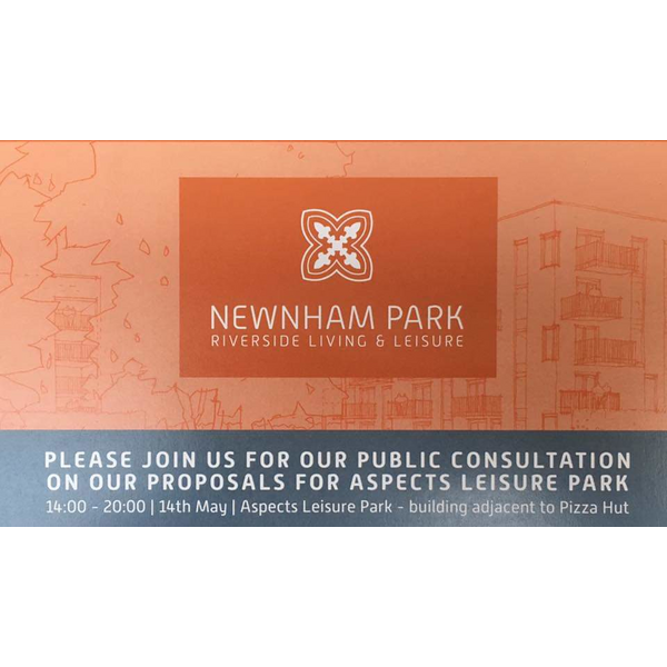 Newnham Park Proposals Public Consultation Flyer