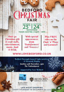 Bedford Christmas Fair and Lights Switch On