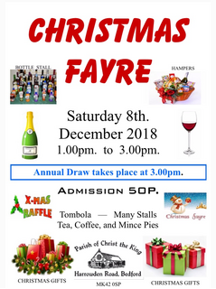 Christ the King's Christmas Fayre