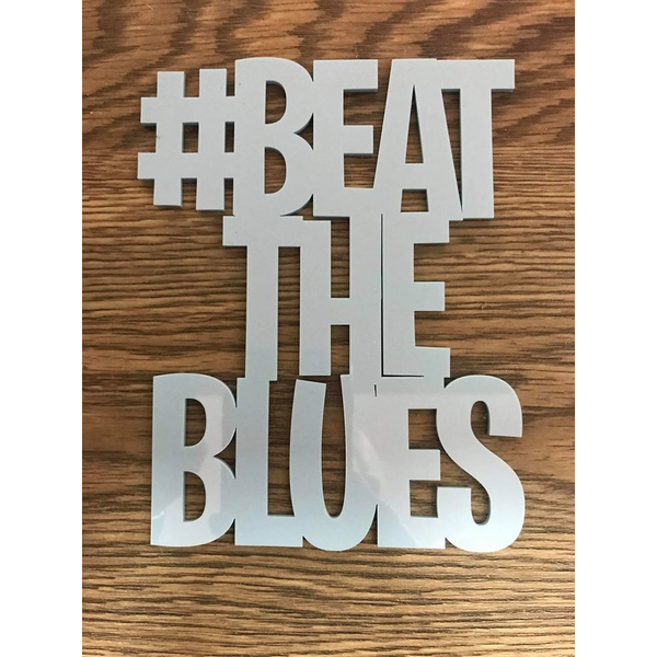 Beat The Blues logo